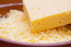 Cheese closeup Royalty Free Stock Photo