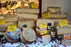 Cheese collection Stock Photos
