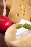 Cheese composition Stock Photography