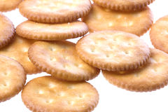 Cheese Cracker Biscuits Stock Photography
