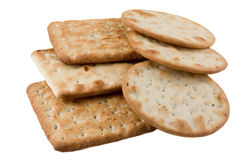 Cheese crackers. Royalty Free Stock Images