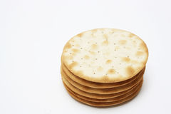 Cheese crackers Stock Photos