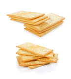 Cheese crackers Royalty Free Stock Photography