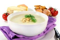 Cheese Cream Soup Royalty Free Stock Photos