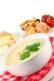 Cheese Cream Soup Royalty Free Stock Image