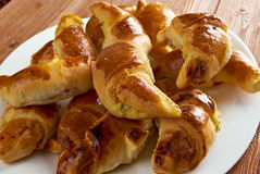Cheese crescents Royalty Free Stock Photography