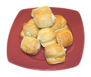 Cheese croissant stock images