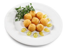Cheese Croquettes Royalty Free Stock Photography