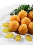 Cheese Croquettes royalty free stock images