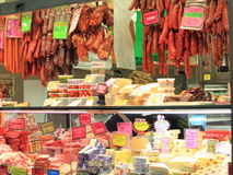 Cheese dairy shop  Stock Photos
