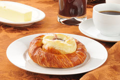 Cheese danish Stock Images