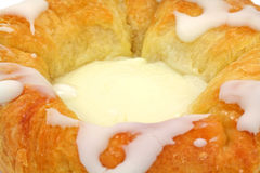 Cheese Danish Close View Royalty Free Stock Photography