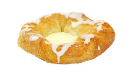 Cheese Danish Front View Stock Photos
