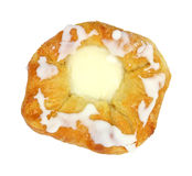 Cheese Danish Overhead View Royalty Free Stock Images