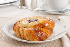 Cheese Danish Roll Royalty Free Stock Photos