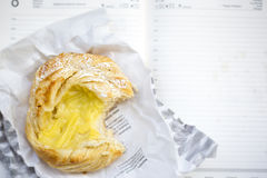 Cheese danish Stock Image