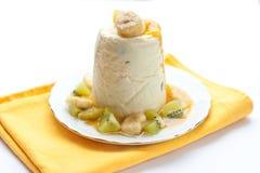 Cheese dessert Royalty Free Stock Image