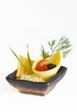 Cheese dessert Stock Photography