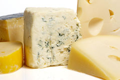 Cheese, Different Sorts Royalty Free Stock Images