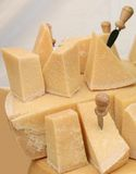 Cheese Display. Royalty Free Stock Photo