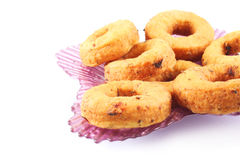 Cheese Donuts with herbs Stock Images