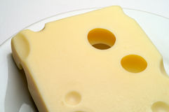 Cheese: Emmental Stock Photo