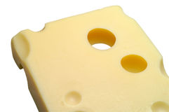 Cheese: Emmental w/ clipping Royalty Free Stock Photo