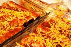 Cheese Enchiladas Stock Photos