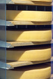Cheese factory in Gruyères, Switzerland stock photos