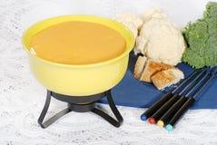 Cheese fondue Royalty Free Stock Image