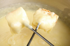 Cheese fondue Royalty Free Stock Photos