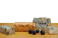 Cheese and fruit royalty free stock photography