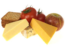 Cheese and Fruit Royalty Free Stock Photos