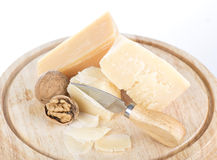 Cheese and fruit Stock Photos