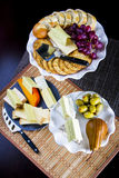 Cheese and fruits Royalty Free Stock Photo