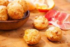Cheese Gougères Stock Images