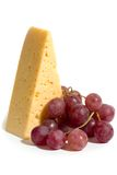 Cheese and grape Royalty Free Stock Photo