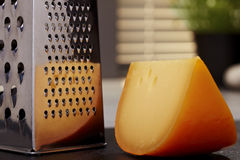 Cheese and grater Royalty Free Stock Image