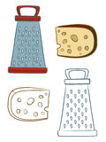 Cheese grater Stock Photography