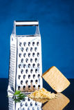 Cheese and grater Royalty Free Stock Photos