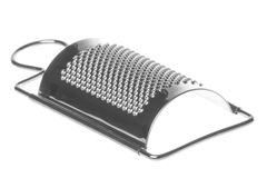 Cheese Grater Isolated. Isolated image of a cheese grater Royalty Free Stock Photography