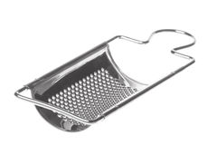Cheese Grater Isolated. Isolated image of a cheese grater Royalty Free Stock Photo