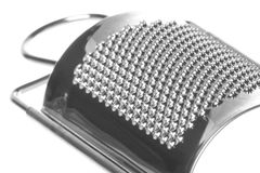Cheese Grater Isolated. Isolated image of a cheese grater Stock Photo