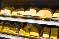 Cheese. Grocery store Stock Photography