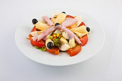 Cheese and ham salad Royalty Free Stock Photo