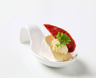 Cheese hors d'oeuvre Royalty Free Stock Photography