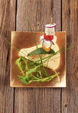 Cheese hors d'oeuvre Royalty Free Stock Photos