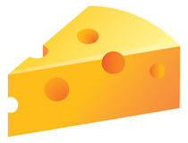 Cheese illustration Stock Photo