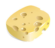 Cheese (illustration) Stock Images