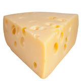 Cheese isolated Royalty Free Stock Image